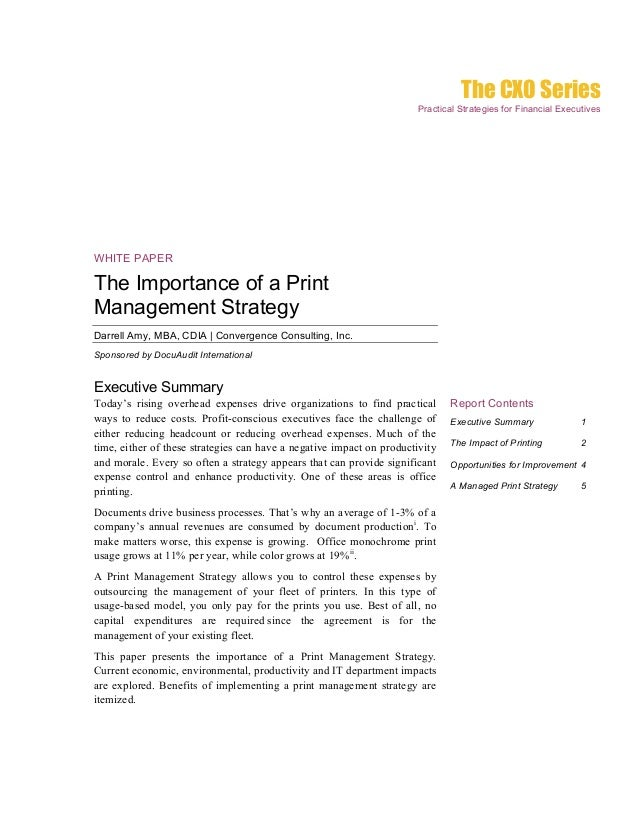 The CXO Series                                                                      Practical Strategies for Financial Exe...
