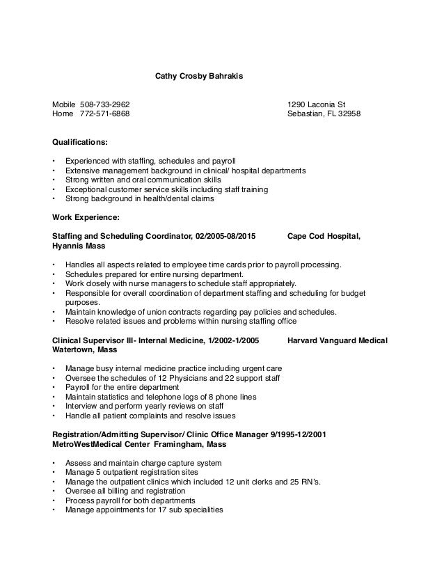 how to write a cover letter for a resume cathy crosby bahrakis resume 6868