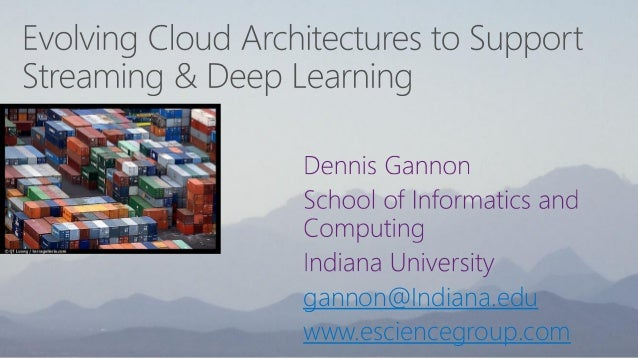 gannon@Indiana.edu www.esciencegroup.com