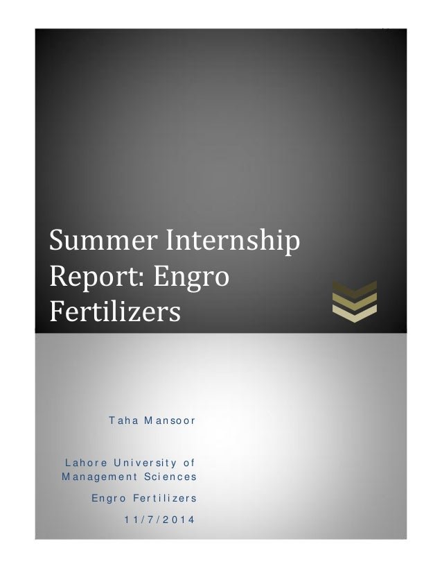 engro report The purpose of the report is to study the various aspects of the performance appraisal system at engro polymer & chemicals and to apply the theories learned during the course in conducting this study, we made use of primary and secondary methods of data collection.