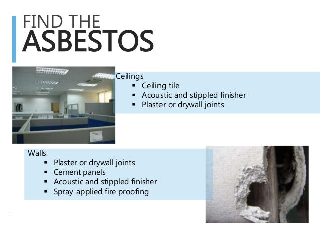 Asbestos for Does drywall have asbestos