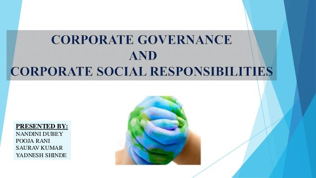 Corporate Governance Vs  Corporate Social Responsibilities