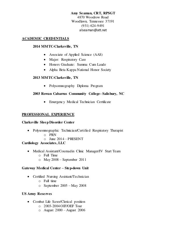 amy seaman poly and rt resume august 2015