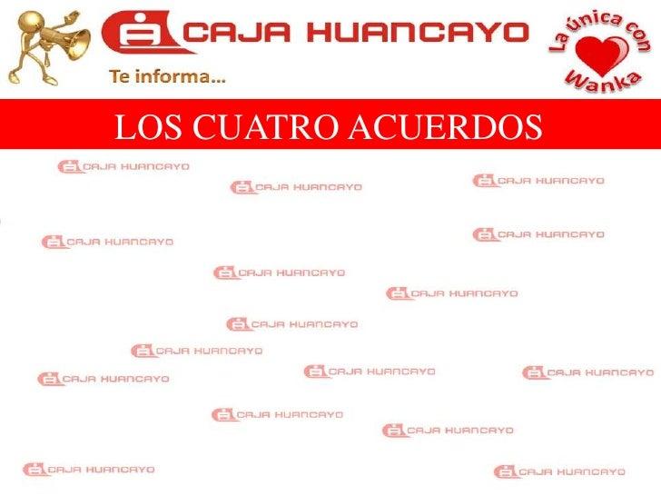 LOS CUATRO ACUERDOS<br />