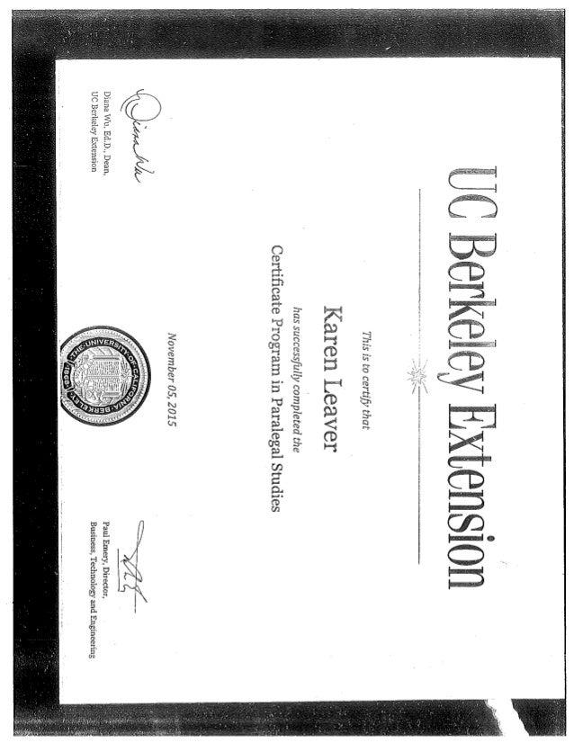 Uc Berkeley Certificate
