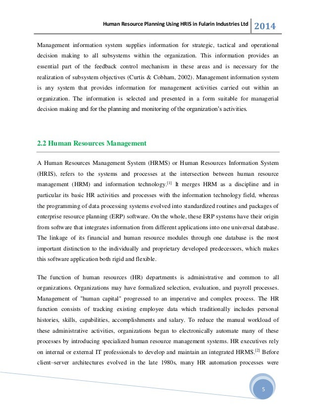 strategic human resources planning pdf