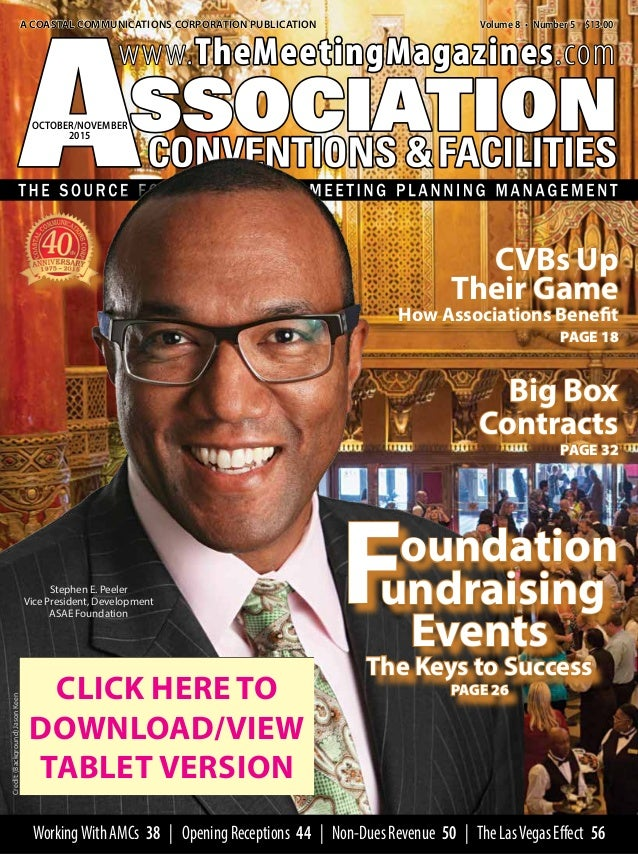 Association Meetings And Conventions OctNov Issue Interactive