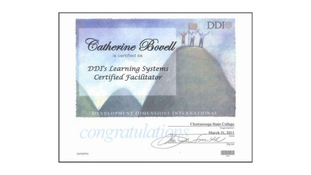 DDI Certification