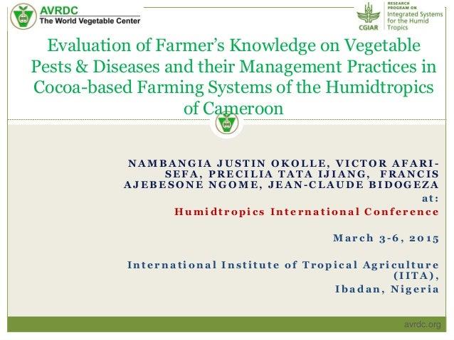 Farming systems essay