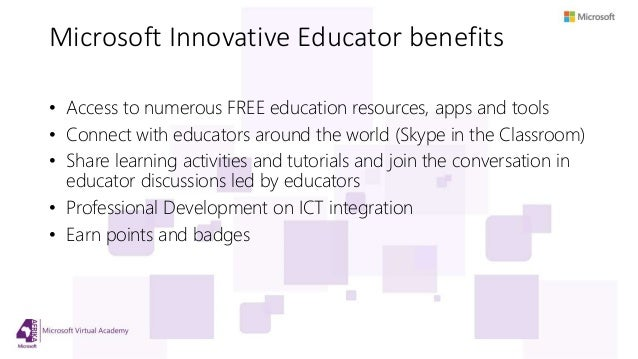 how to become a microsoft innovative educator