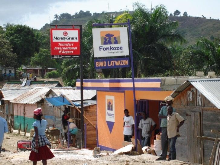 Fonkoze's BranchNetwork CoversMost Of Haiti AndIs Still Growing