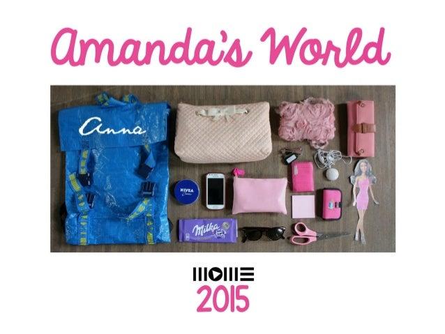 MOME Kurzushét 2015 - Persona: Amanda