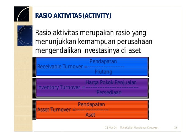 total aset turnover analysis of sime The formula for the asset turnover ratio is: revenue / average total assets let's look at an example using the following hypothetical information for company abc.