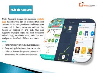 4 Android Applications to Manage Multiple User Accounts on