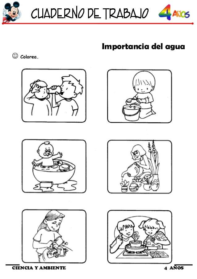 Cuaderno de trabajo iii 4 a os de ciencia y ambiente - Como ahorrar agua y luz ...