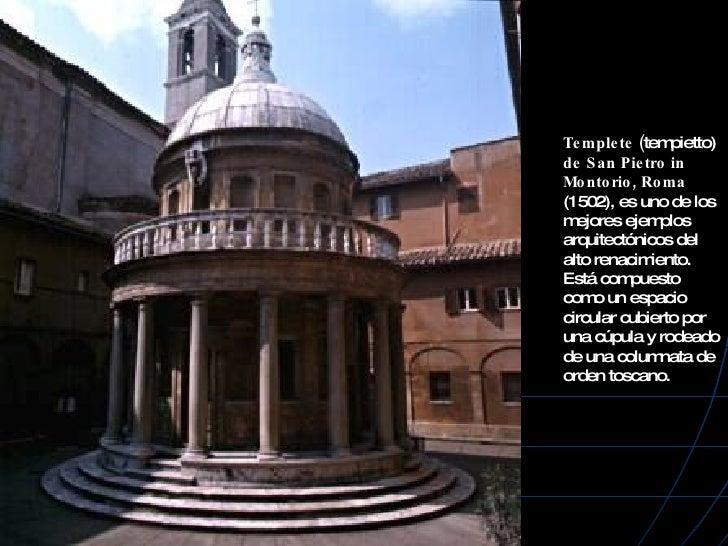 4 arquitectura del renacimiento