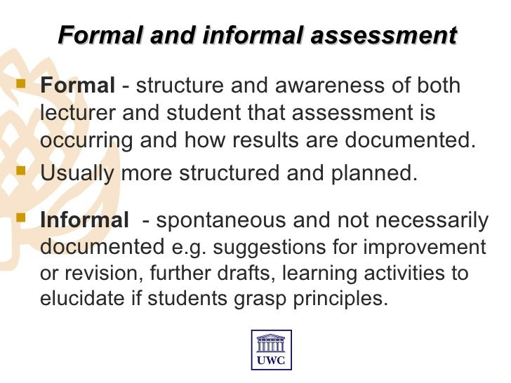 """formal education vs informal education 2 essay Essay """"critically examine the view that informal education is based around conversation and formal education on curriculum is there a role for curriculum within informal education."""