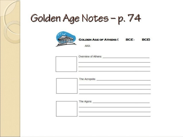 Golden Age Notes – p. 74