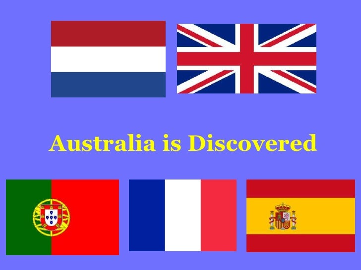 Australia is Discovered<br />