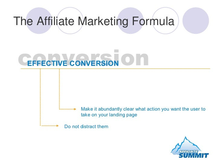 conversion EFFECTIVE CONVERSION  Make it abundantly clear what action you want the user to take on your landing page Do no...