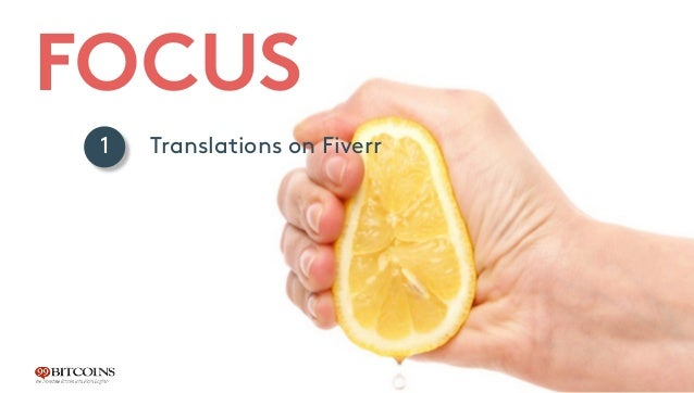 FOCUS Translations on Fiverr Language specific sidebars Selling other products for the same need 1 2 3