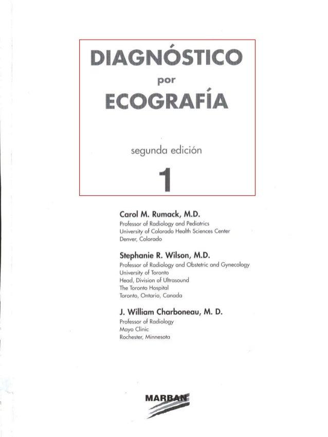 Diagnostico por ecografia Segunda Edicion