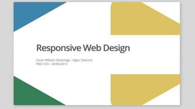 Responsive Web Design - Algar Telecom