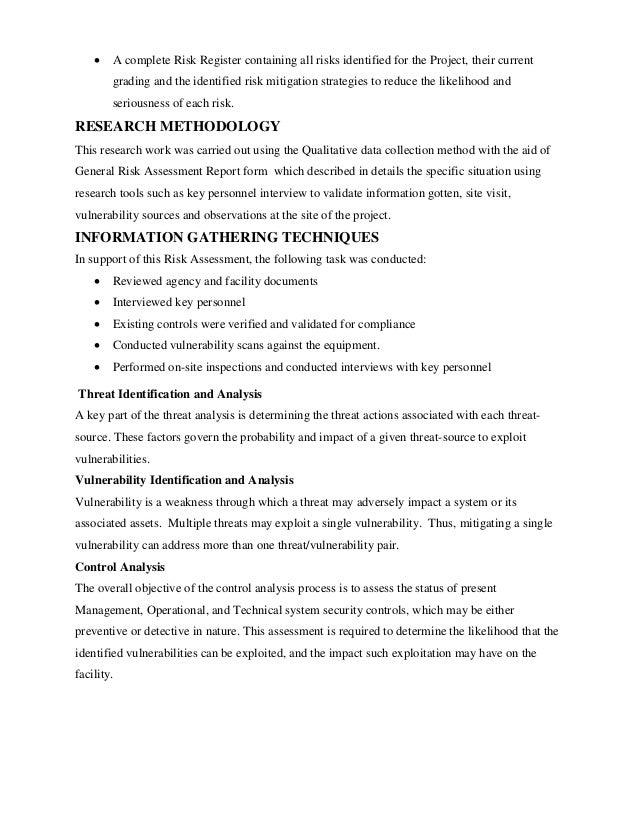 Hse risk assessment 4 a complete risk register maxwellsz