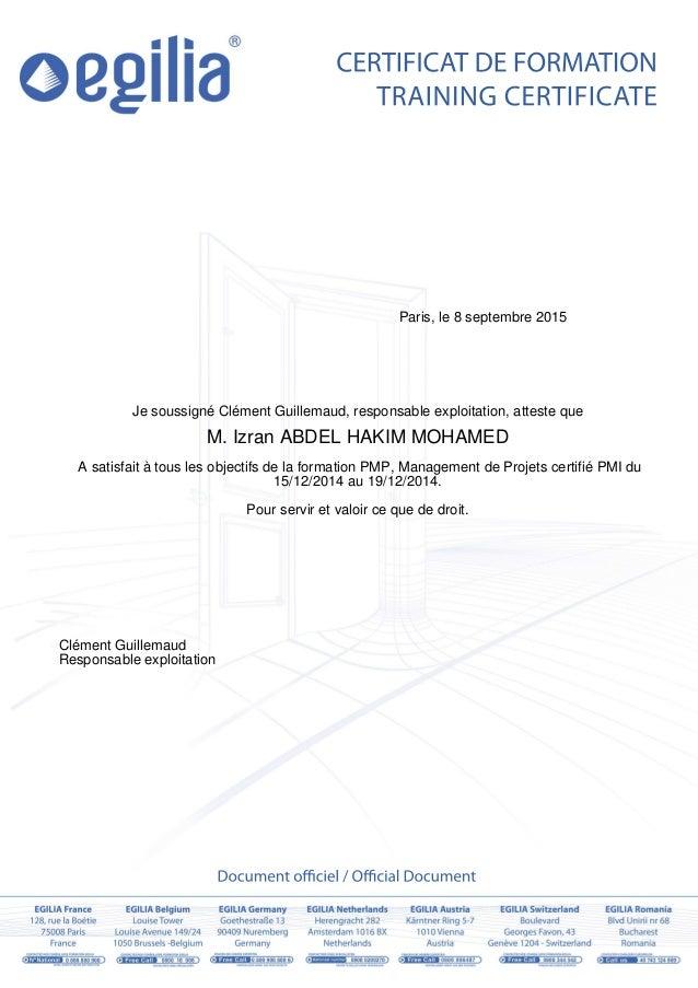 La Declaration De Presence Rznky