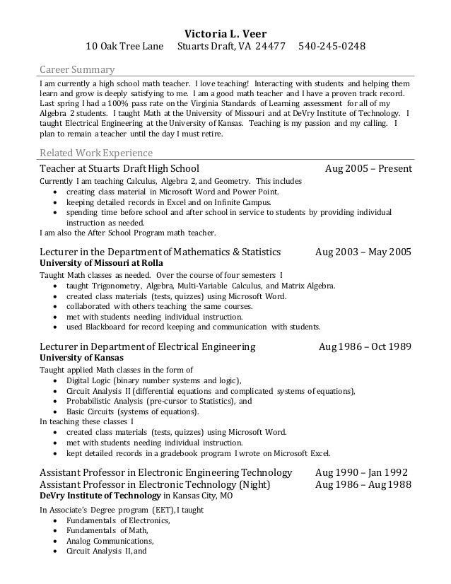 sample resume paraprofessional fresh graduate resume sample
