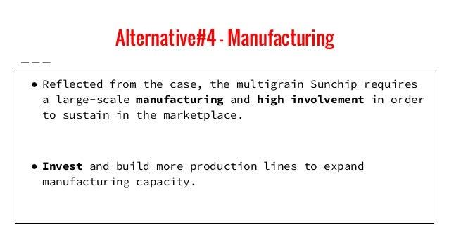 Strategic marketing cases frito lay s sunchips