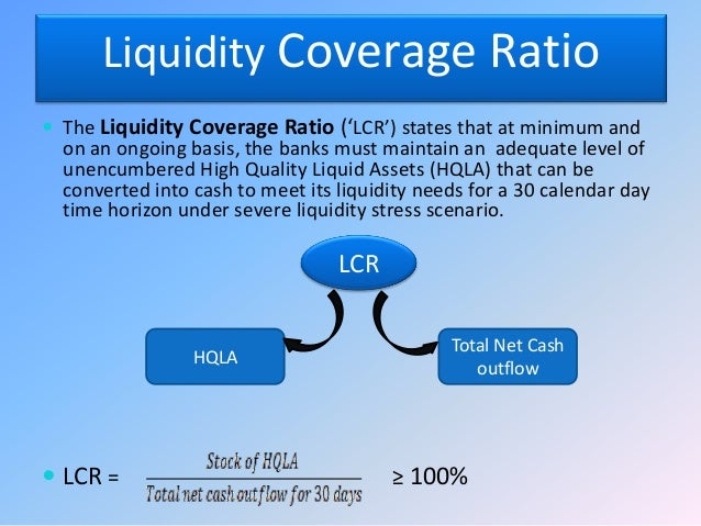 liquidity crisis and ratio analysis The framework for our analysis we have chosen to draw out lessons from the  credit and liquidity crunch by analysing its impact upon major financial institutions.