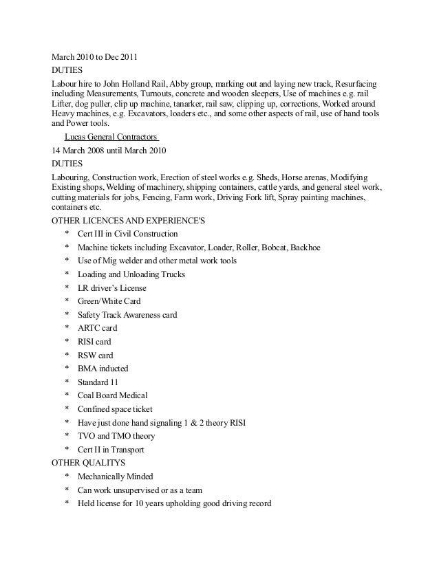 Enchanting General Farm Hand Resume Motif - Resume Ideas - namanasa.com