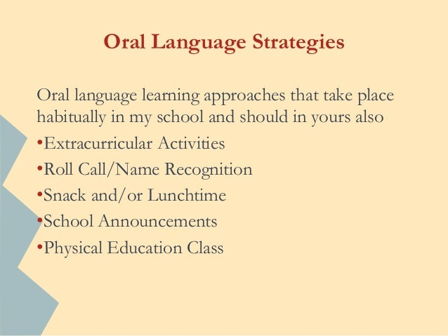 Strategies To Promote Phonological Awareness In Non English Children