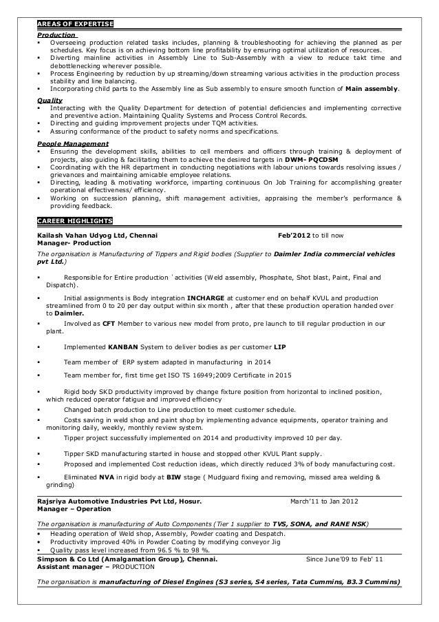 Resume Slide 2