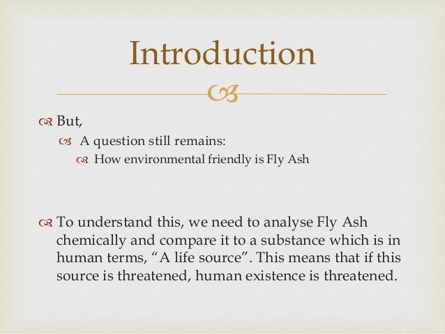 Is Fly Ash A Source Of Natural Gas