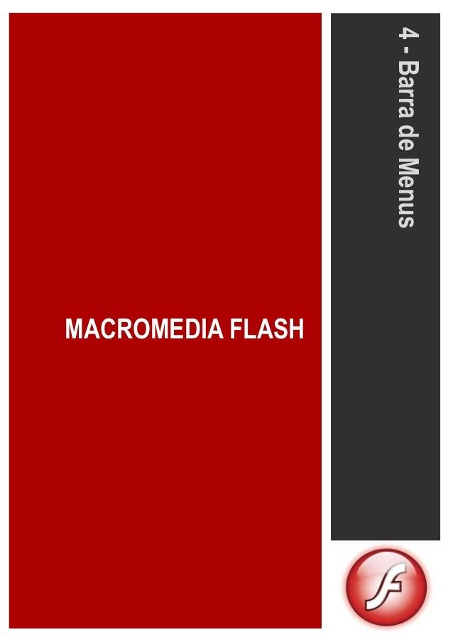 MACROMEDIA FLASH 4-BarradeMenus