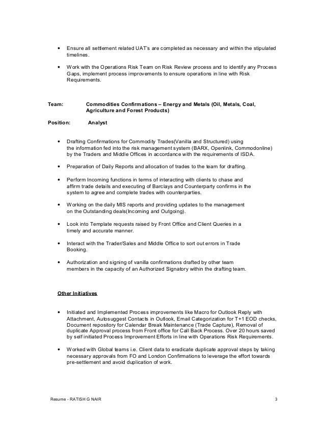 Ratish Nair-Resume