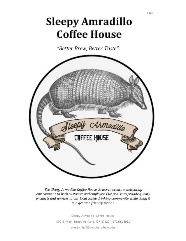 Intro To Business Coffee Shop Project