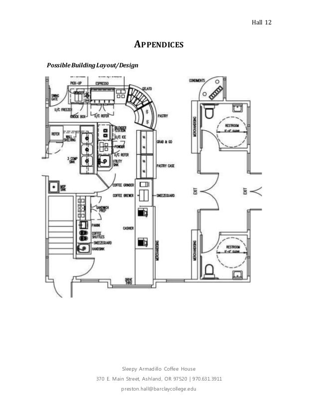 Coffee house project plan