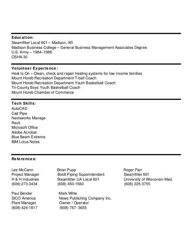 Brian Krueger Resume