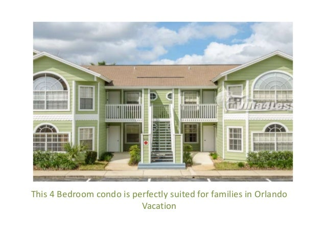 4 Bedroom Vacation Rental Home In Orlando