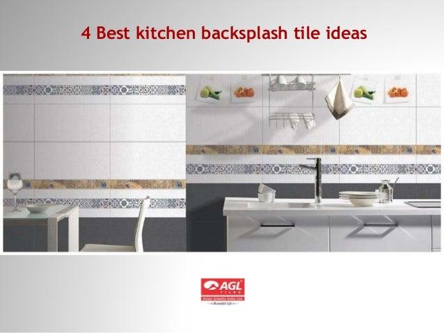 4 Best Kitchen Backsplash Tile Ideas