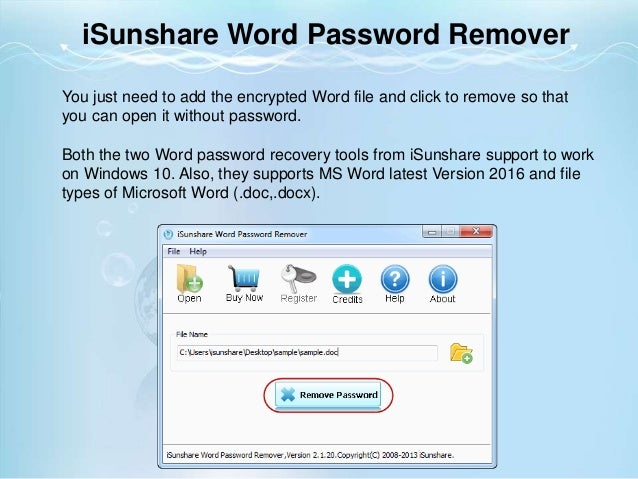 best password recovery for windows 10