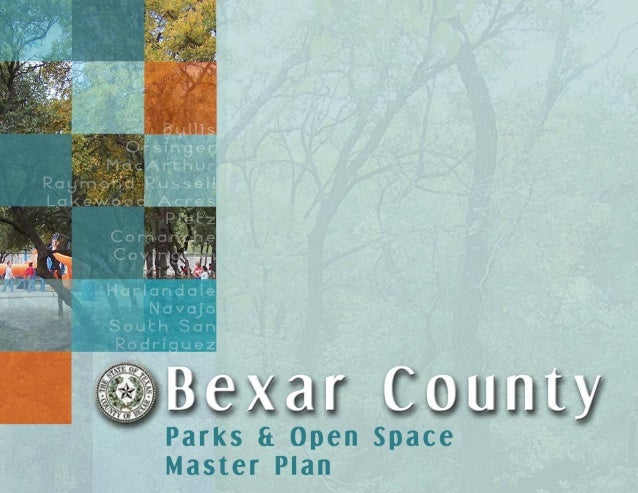 Bexar County Parks and Open Space Master Plan
