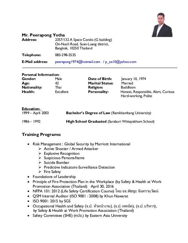 Mr. Peerapong Yotha Address: 2357/132 A Space Condo (G building) On-Nuch Road, Suan-Luang district, Bangkok, 10250 Thailan...
