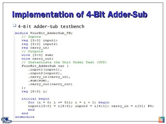 4 Bit Add Sub