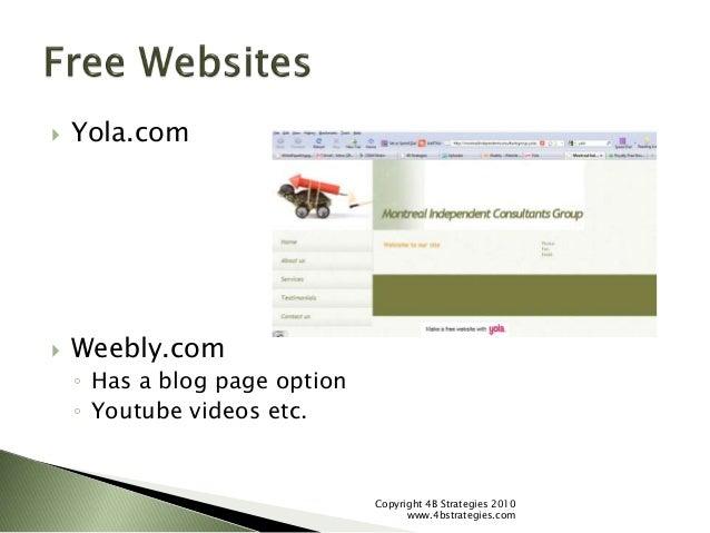 Marketing Your Coaching Business Online - 4B Strategies slideshare - 웹