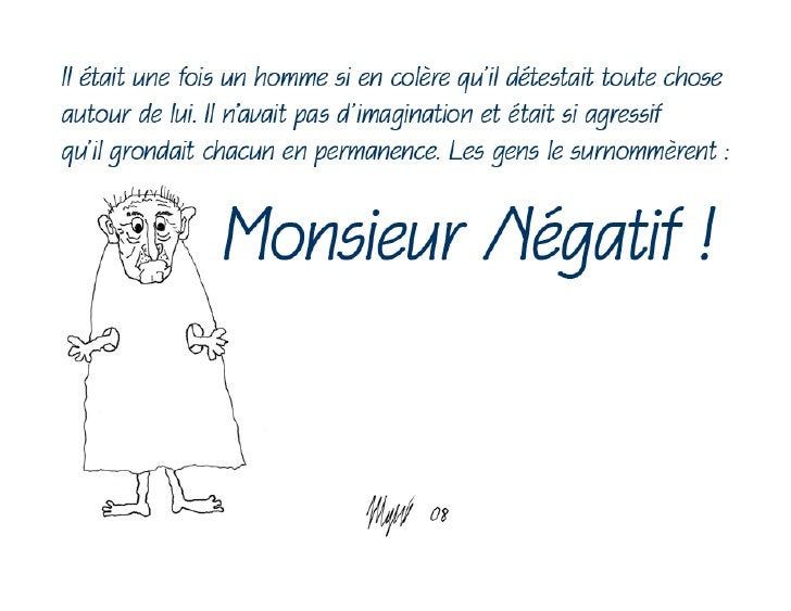 Monsieur Negatif
