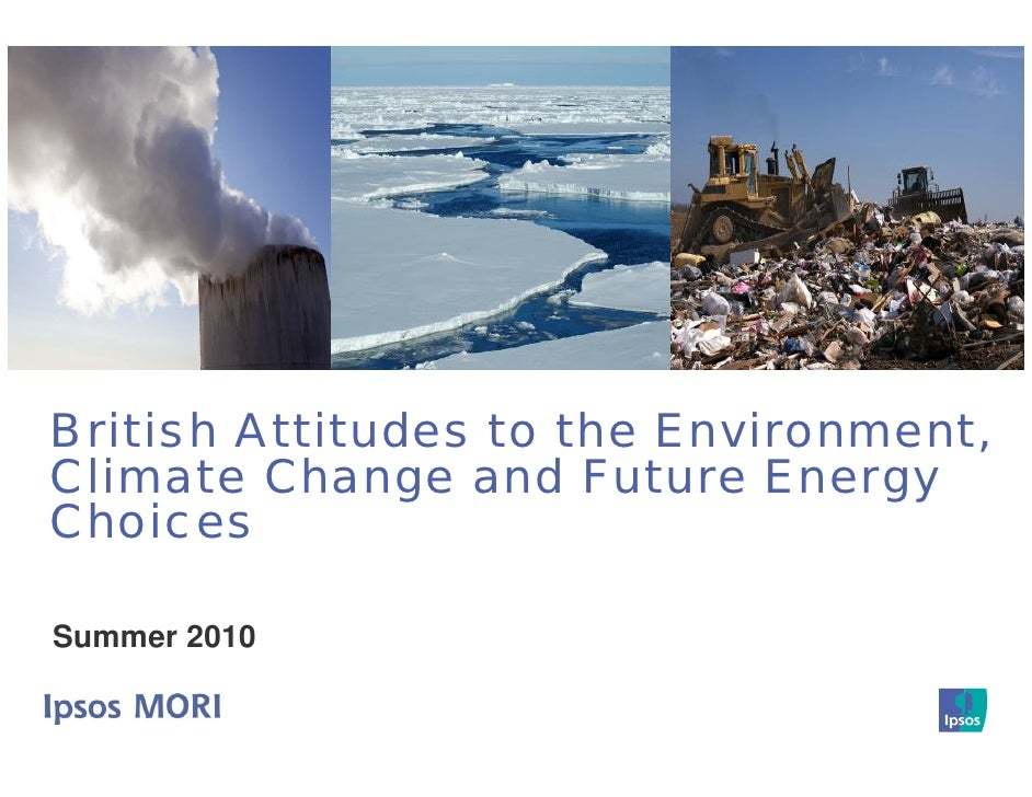 British Attitudes to Environment / Climate Change / Future-energy-choices
